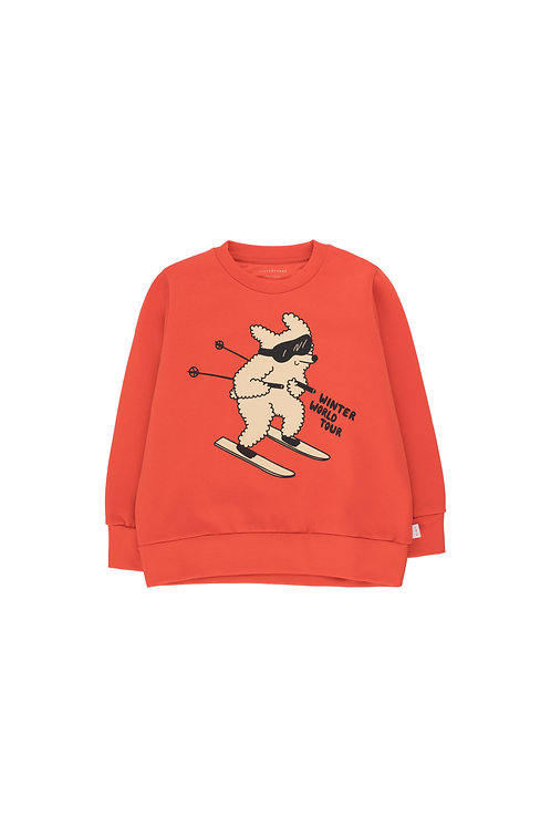 """SKIING DOG"" SWEATSHIRT"