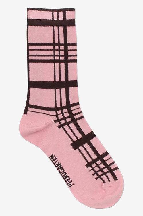 Lukina Socks- Pink/Brown