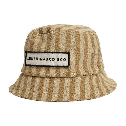 Disco Bucket Hat LION STRIPE