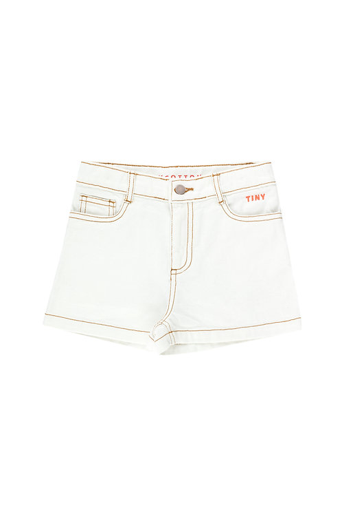 TINY SHORT off-white