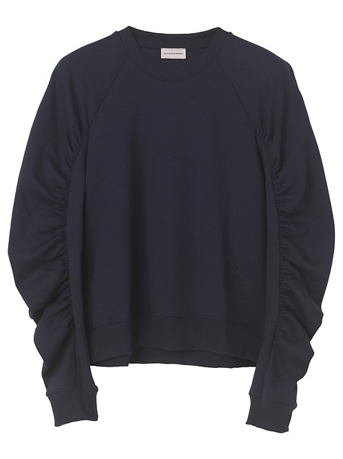 Carice ruched sweatshirt