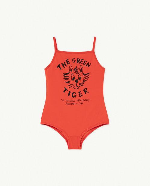 Octopus Kids Swimwear Red Tiger