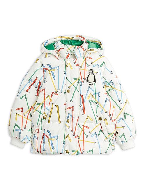 Skis puffer jacket