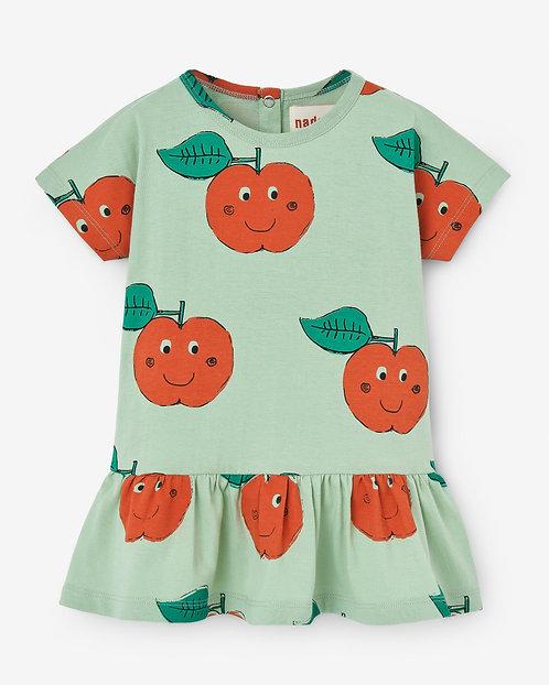 Baby Dress- Crazy Apples