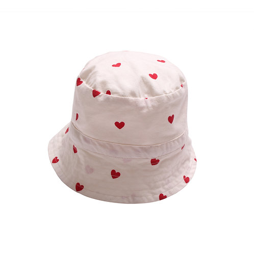 Club Hat Ecru Red