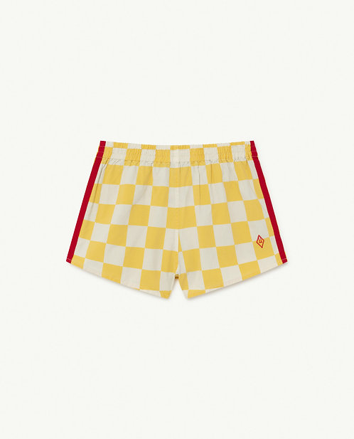Spider Kids Trousers White Squares