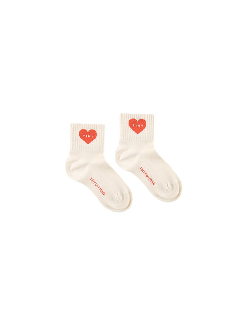 """HEART"" QUARTER SOCKS"