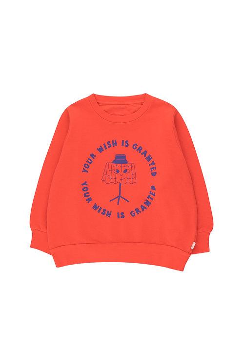 Wishing Table Sweatshirt- Red/Blue