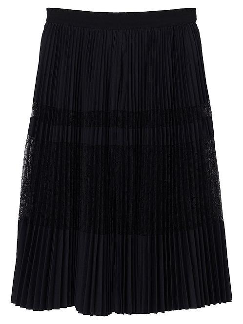 Dax pleated skirt