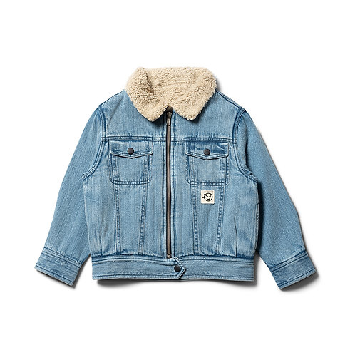 Forever Denim Jacket - Pale Bleached Denim