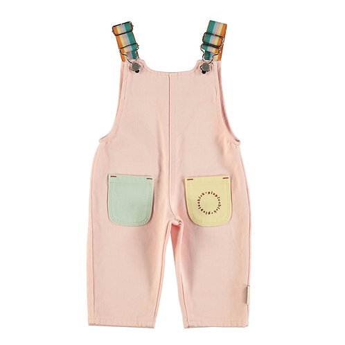 Baby Pale Pink Dungarees