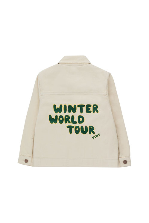 "WINTER WORLD TOUR"" SOLID JACKET"