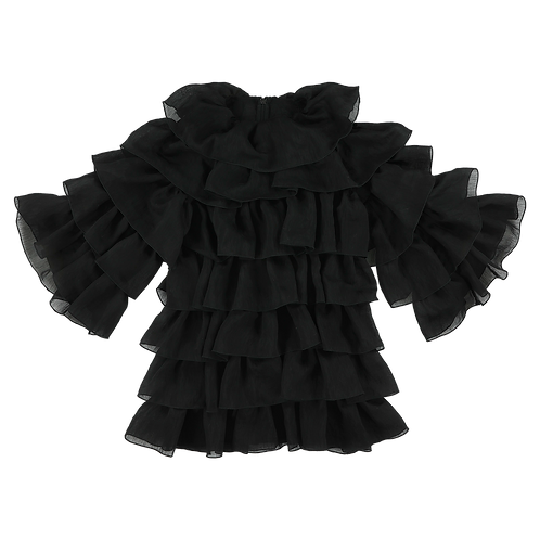 TENCEL BLACK DRESS