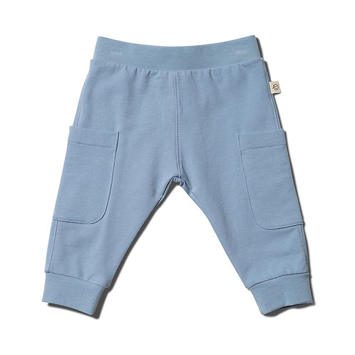 Relaxed Daily Pant - Dusk Blue