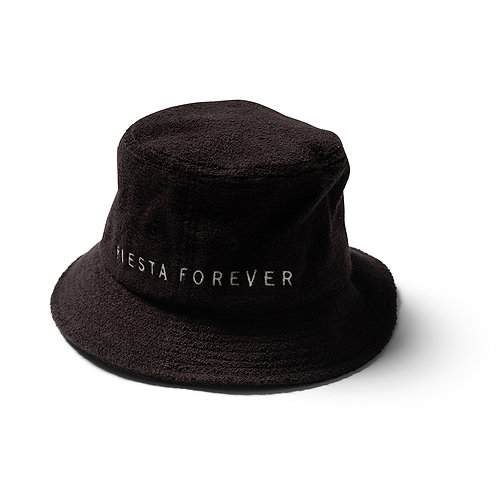Fiesta Bucket Hat - Black Terry