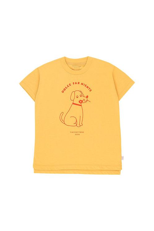 """FLOWER DOG"" TEE"