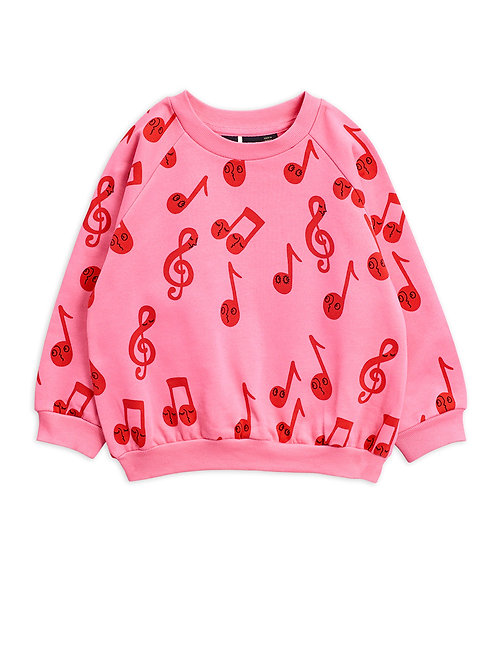 NOTES SWEATSHIRT PINK