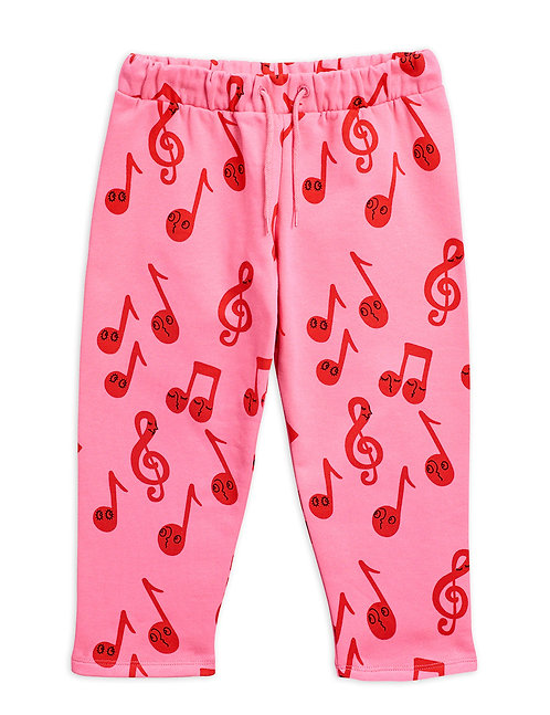 NOTES SWEATPANTS PINK
