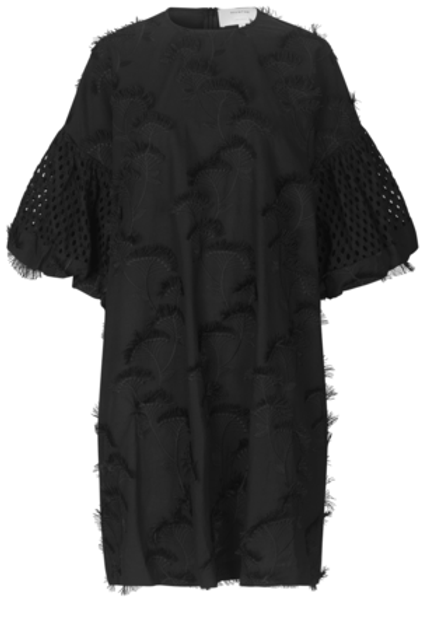 THUNDER DRESS, BLACK