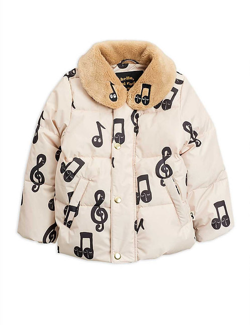 NOTES PUFFER JACKET
