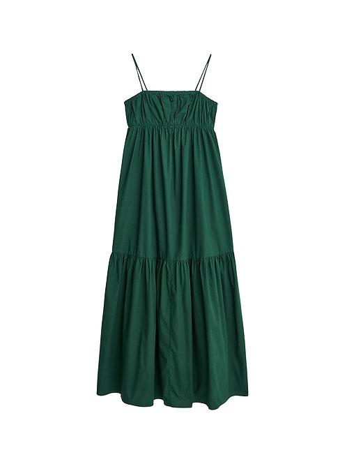 Disemma organic cotton dress-Green