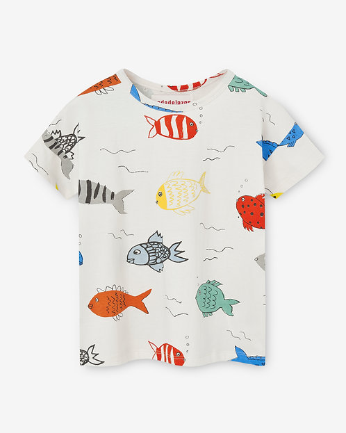 T-shirt-Fishes in the River