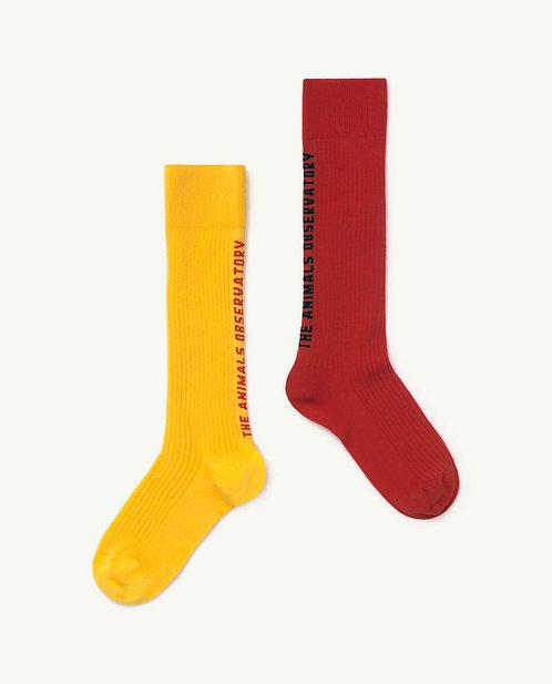 Kid Red Worm Socks