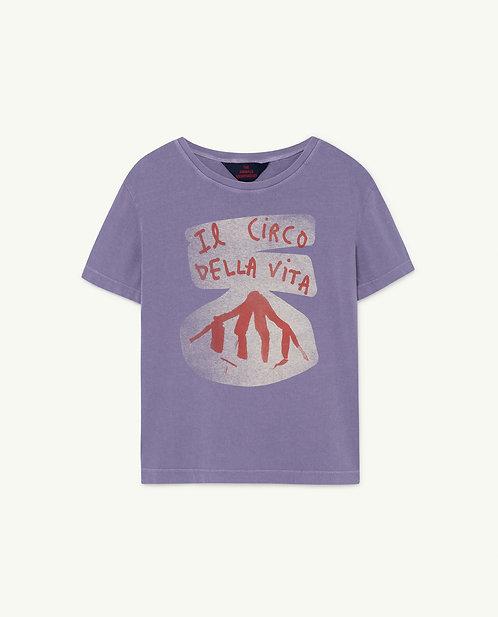Rooster Kids Tshirt Purple Circo