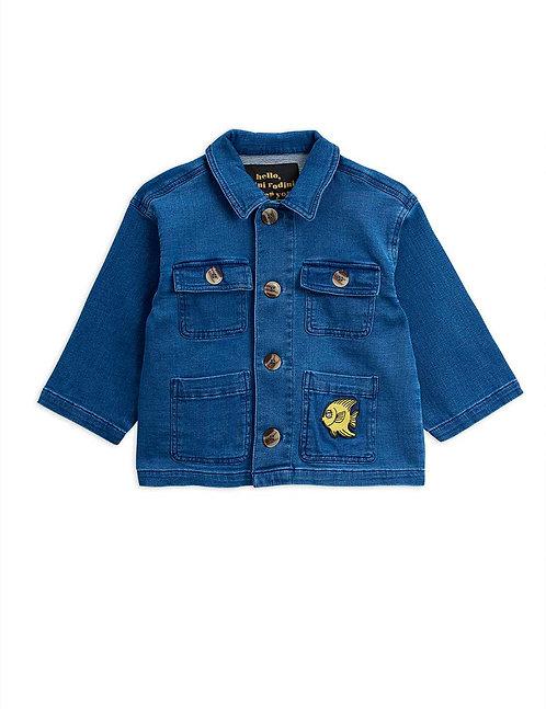 Denim safari jacket