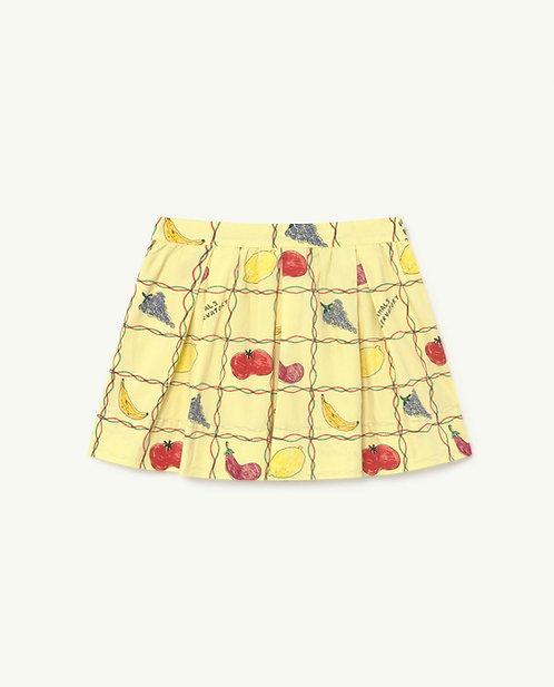 Bird Kids Skirt- Yellow fruits