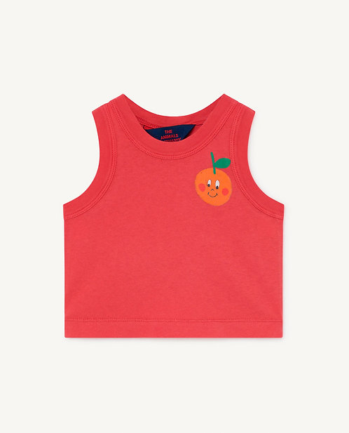 Red Frog Baby Tank Top