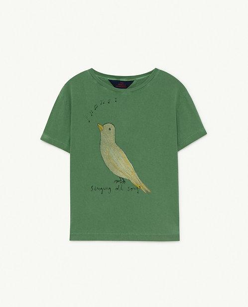 Green Bird Rooster T-Shirt