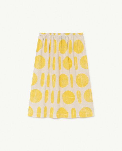 White Ovals Ladybug Skirt