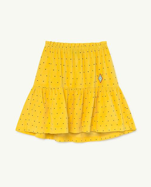 Yellow Dots Bird Skirt