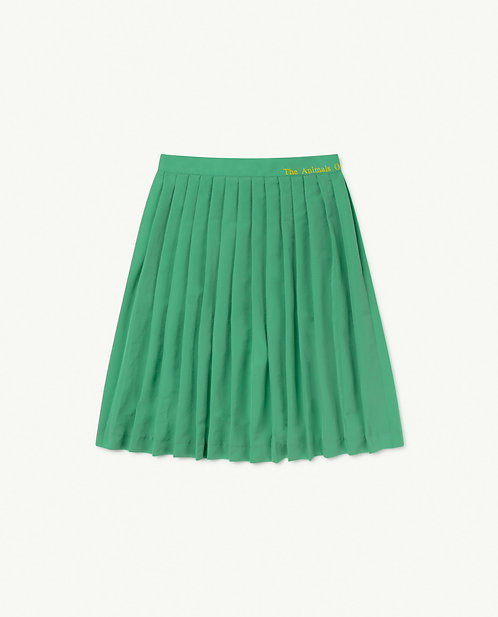 Green The Animals Cat Skirt