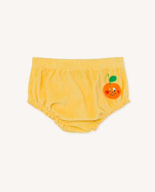 Yellow Toads Baby Culotte