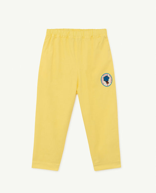 Elephant Kids Trousers Yellow Tree