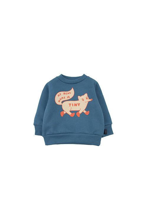 """TINY FOX"" SWEATSHIRT"