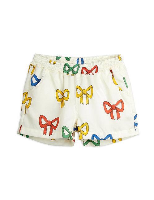 Bow Woven Shorts