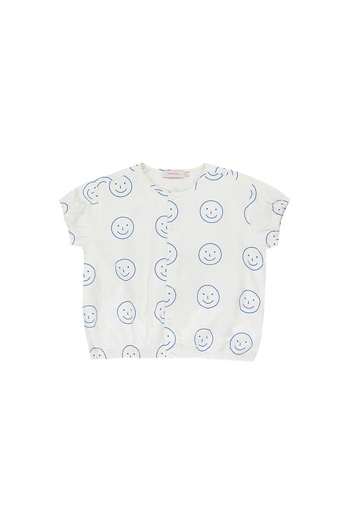 Happy face ss blouse
