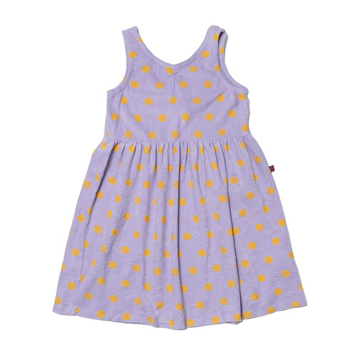Disco Dress LILAC DOT