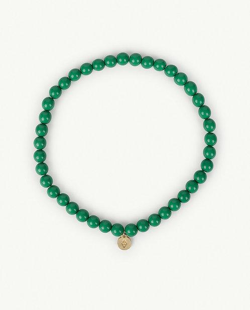 Iguana Necklace Green