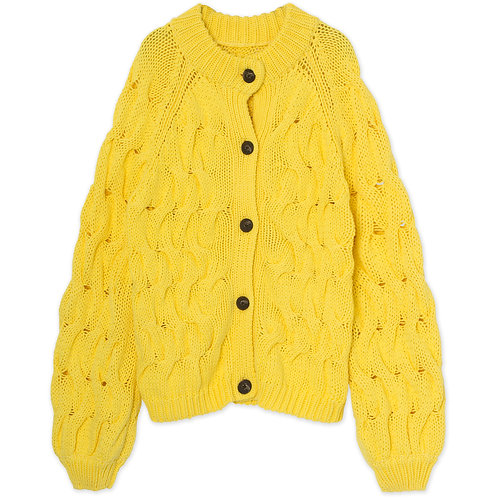 Alice Yellow Knit