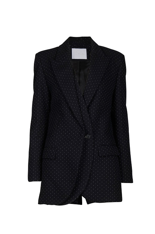 JACKET JANNIK, BLACK & WHITE DOTS
