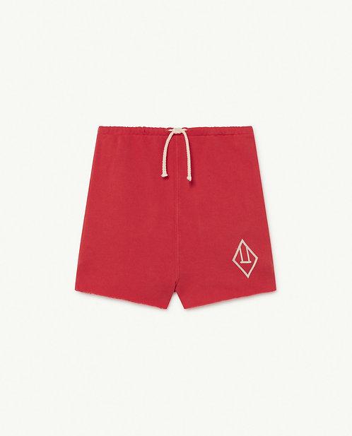 Hedgehog Kids Trousers Red Logo