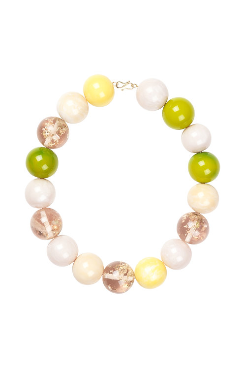 Dorty Necklace - Lime