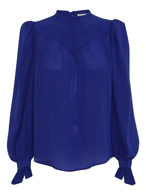 Angelica Blouse-Blue