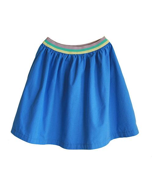 Tape Blue Skirt