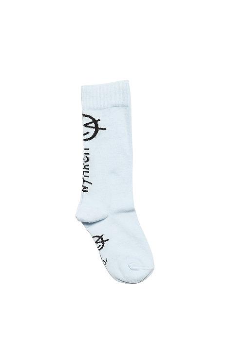 Wynken Knee High Sock - Pale Blue