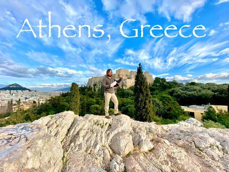 Athens, Greece, Mars Hill, Areopagus, Teacher Joshua James